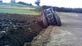 Fendt 939 deep plow
